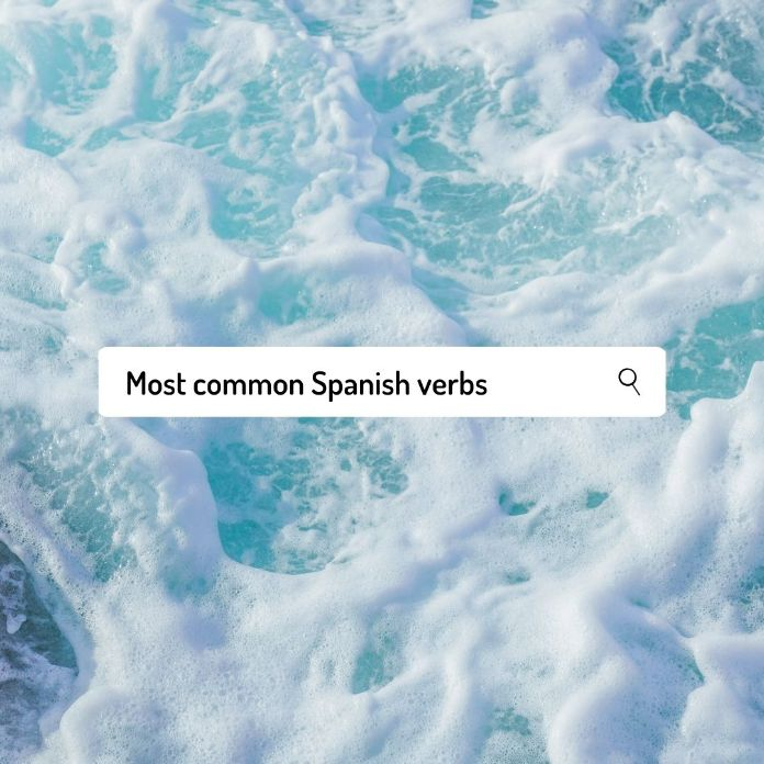 Most common Spanish verbs
