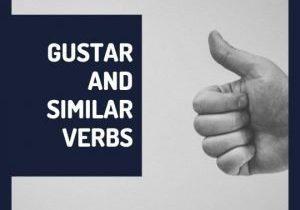 Gustar and similar verbs